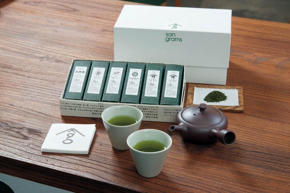 サングラム-お茶と茶器セット
